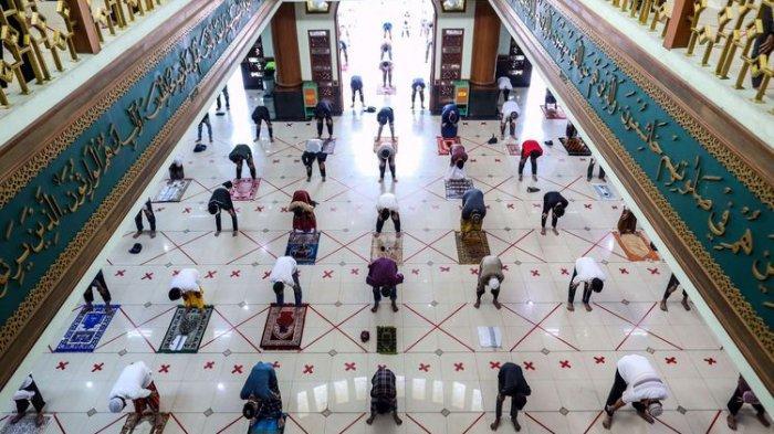 Shalat Idul Fitri, Masjid Raya Al-Falah Sragen Hanya Akan Tampung Separuh dari Kapasitas