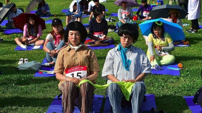 Unik, di Korea Selatan, Ada Kompetisi Bengong
