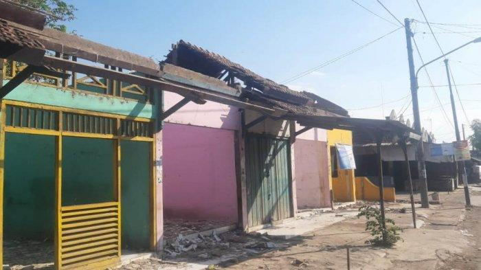 Sepi dan Terkesan Kumuh, Kios Bagian Selatan Pasar Kalinyamatan Jepara Ditata Ulang
