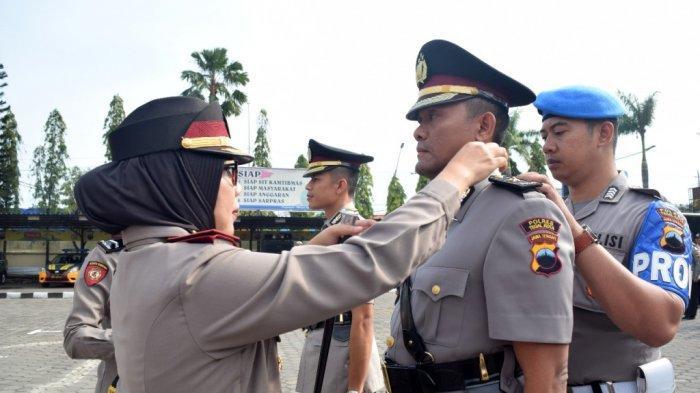 Kompol Joko Wicaksono Jabat Wakapolres Tegal Kota, Kompol Davis Busin Siswara Pindah Banyumas