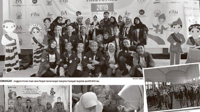 Forum Anak Jawa Tengah Jadi Wadah Suarakan Aspirasi