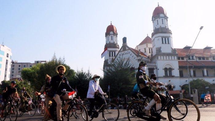 Selami Sejarah Perjuangan, Denpom Ajak Komunitas Sepeda Napak Tilas Pertempuran 5 Hari di Semarang