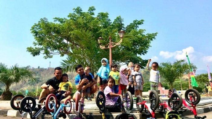 Pushbike Disebut Olahraga Baru dan Unik, Syaiful Bangga Anaknya Jadi Rider