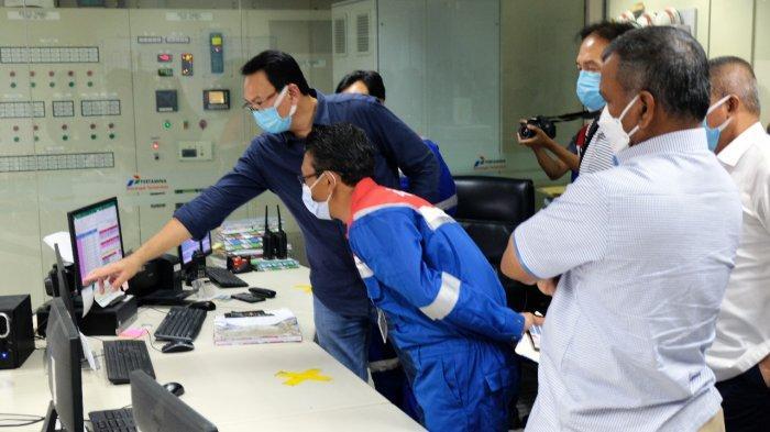 Komisaris Utama Pertamina Tinjau Langsung Implementasi Digitalisasi Fuel Terminal Boyolali
