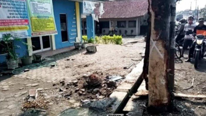 Pecahan Beton Sampai Masuk Balai Desa, 3 Orang Tewas dalam Kecelakaan Maut di Pringapus Kab Semarang