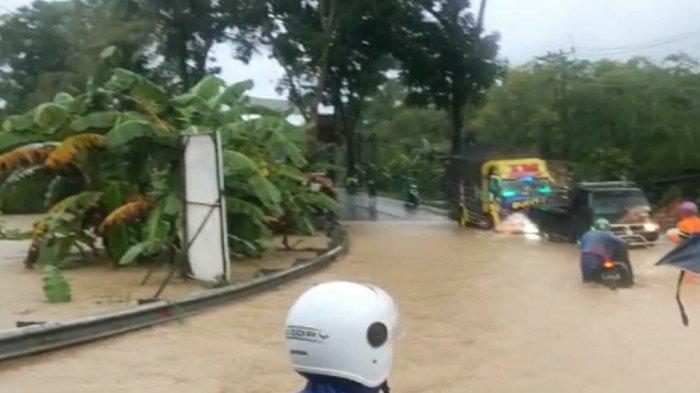Jalan Wangon-Cilacap Sempat Lumpuh, Dua Kecamatan di Kabupaten Cilacap Terendam Banjir