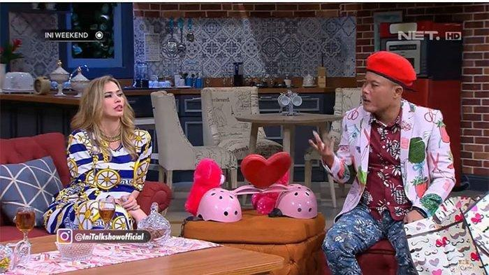 Viral Video Catherine Wilson Diduga Ngefly Saat Jadi Bintang Tamu Ini Talkshow Dipandu Andre & Sule