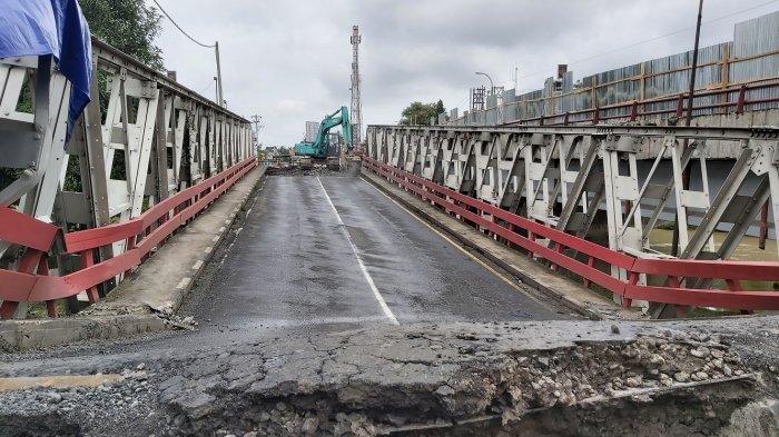 Update Jembatan Rembun Perbatasan Pekalongan-Pemalang Ambles: Perbaikan Butuh Waktu 2 Bulan