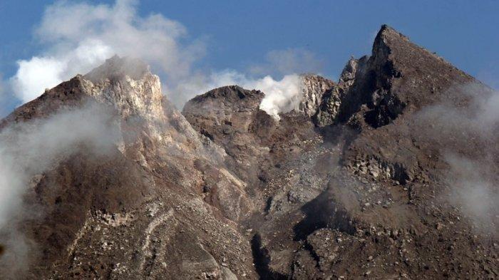 Kubah Lava Gunung Merapi Makin Mengecil, Apa yang Terjadi? Ini PenjelasanBPPTKG Yogyakarta
