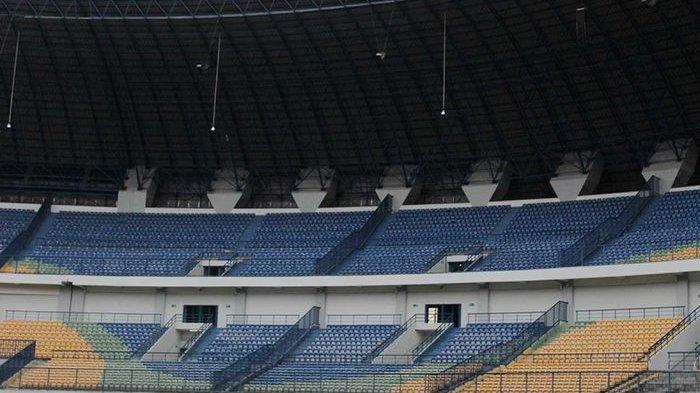 Viral di Medsos Stadion Gelora Bandung Lautan Api Dijadikan Kolam Ikan, Ini Fakta yang Sebenarnya