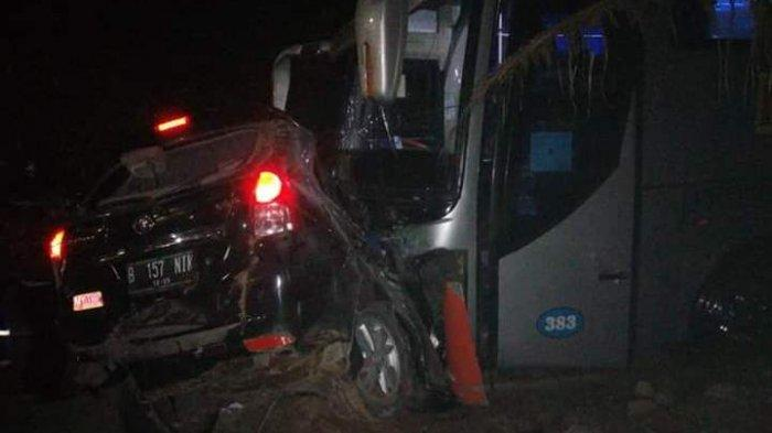 Korban Meninggal Akibat Kecelakaan Bus Rosalia Indah Vs Avanza Bertambah, Jadi 7 Orang