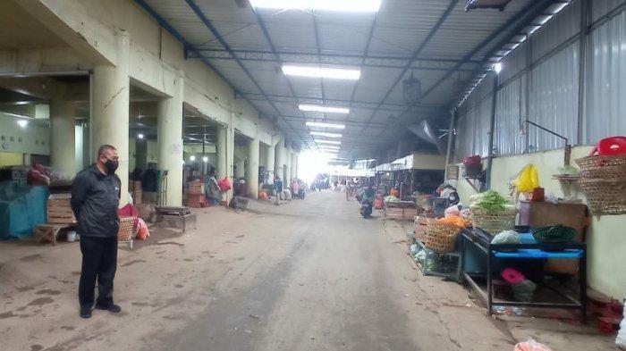 Pedagang Pasar Tawangmangu & Palur Karanganyar Pilih Tak Jualan saat Jateng di Rumah Saja