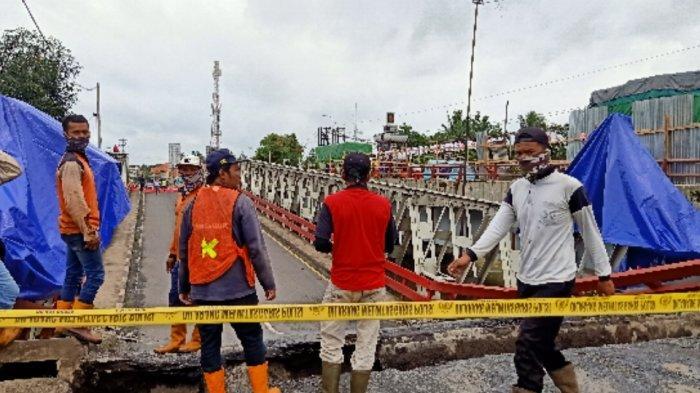 Jembatan Rembun Ambles, Bupati Asip Akan Berkoordinasi Agar Exit Tol Bojong Dibuka