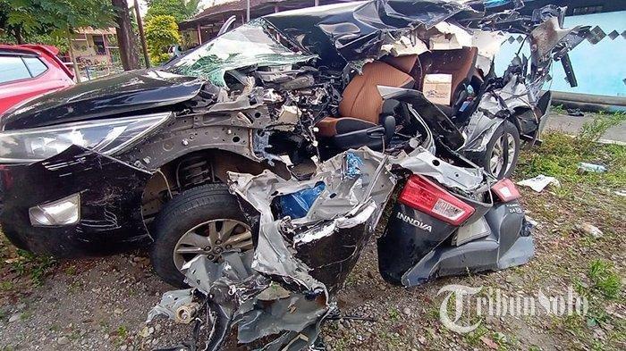Kronologi Kecelakaan Maut Truk Vs Mobil Innova, Ayla dan Hyundai di Tol Semarang-Solo, 2 Meninggal