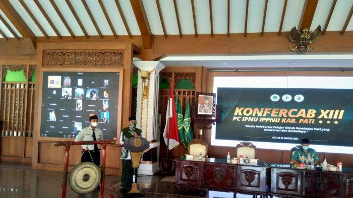 Kiai Yusuf Hasyim Titipkan Tiga Amanah pada Kader-kader IPNU-IPPNU Pati
