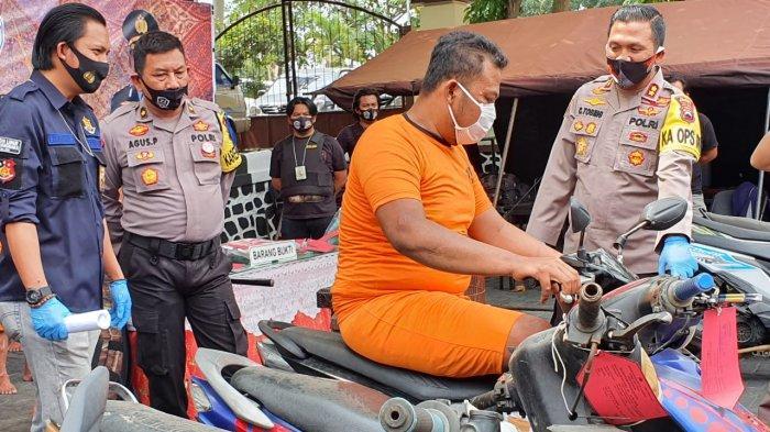 Operasi Sikat Jaran Polres Wonogiri, Ini 7 Sepeda Motor dan 1 Mobil yang Diamankan Polisi