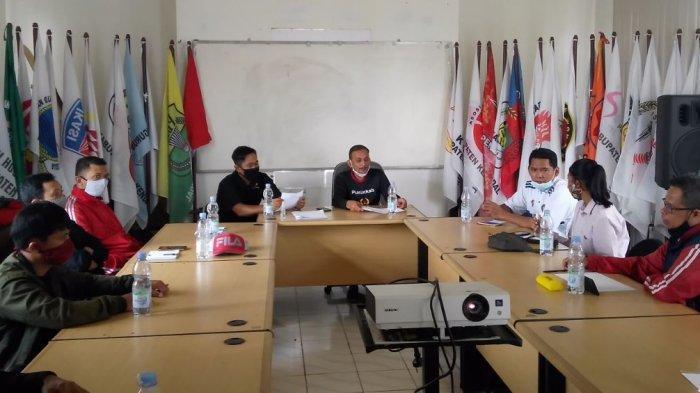 KONI Kendal Seleksi 56 Peserta Pelatih Teknis dan Fisik Atlet Porprov Jateng