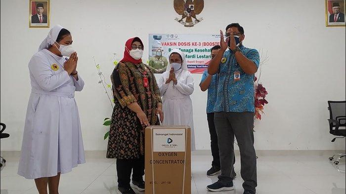 Sragen Terima 50 Unit Konsentrator Oksigen dari Luhut Binsar Pandjaitan: Buat RS Swasta