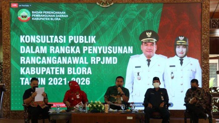 Bupati Blora Arief Rohman Ingatkan Kepala Dinas dalam Menyusun Rencana Pembangunan