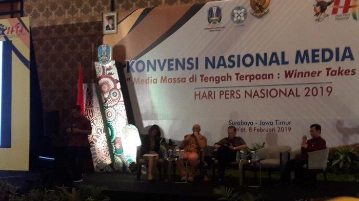 Dahlan Dahi Kritik Regulasi Terhadap Media Massa di Depan Menteri dan Dewan Pers