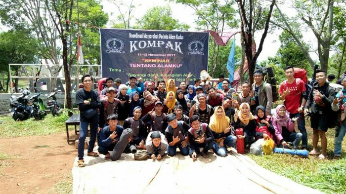 Kompak Kudus Gelar Camp Peduli Kemanusiaan, Libatkan Organisasi Pecinta Alam