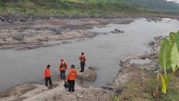 Bocah Hanyut di Sungai Pekacangan Banjarnegara Meninggal, Jenazah Sudah Ditemukan