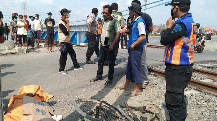 Dalam Sehari, 2 Warga Semarang Tersambar Kereta Api, 1 Tewas 1 Luka, PT KAI Minta Perhatian Pemda