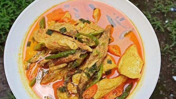 Resep Kotokan Tongkol Kuliner Berkuah Santan Cocok untuk Makan Siang
