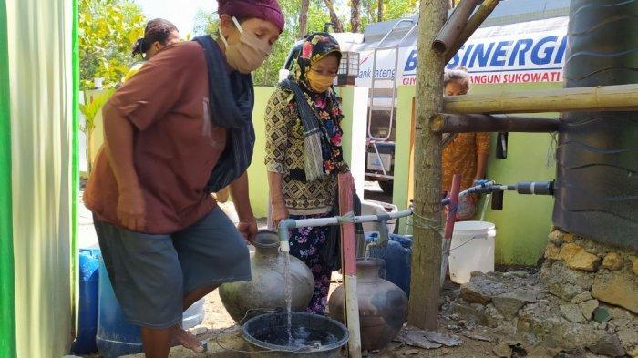 Warga Kowang, Sumberlawang Sragen Bertahun-tahun Hidup Menggunakan Air Asin