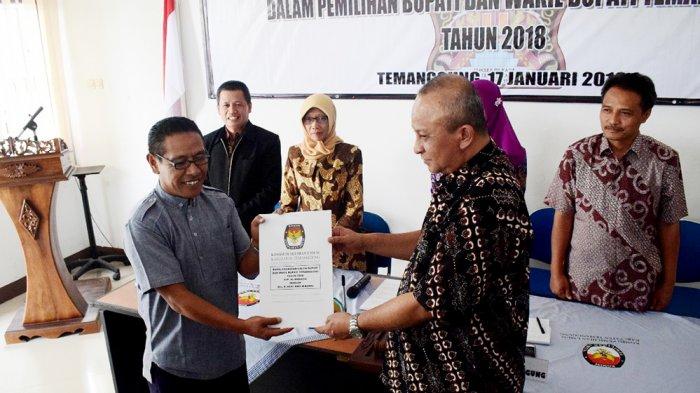 KPU Umumkan Hasil Pemeriksaan Kesehatan Tiga Paslon di Pilkada Temanggung