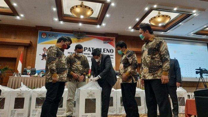 Pleno KPU Kota Semarang, Hendi-Ita Dinyatakan Unggul Telak 91,56 Persen