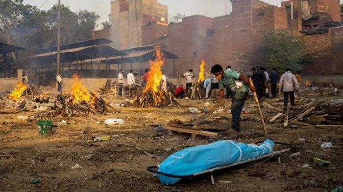 Tsunami Covid-19 di India Jadi Ancaman Global, Varian B1617 akan Beredar di Seluruh Dunia