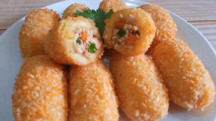 Resep Kroket Kentang Isi Ayam Bisa Jadi Ide Jualan