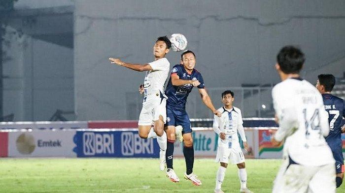 Hasil Liga 1 : Ditahan Imbang Arema FC,  PSIS Sementara di Posisi 4 Klasemen Sementara