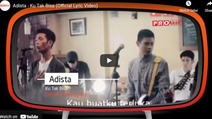 Chord Kunci Gitar dan Lirik Ku Tak Bisa Adista