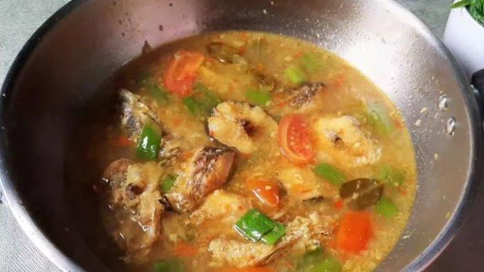 Resep Ikan Gabus Kuah Kuning, Menu Menyegarkan Makan Siang