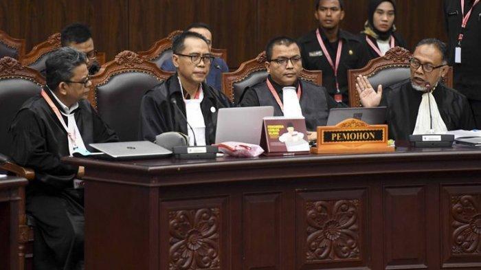 Hakim MK Minta Sebut Nama Pihak yang Ancam Saksi 02, BambangWidjojanto Bereaksi