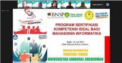 Prodi Informatika Unsoed Purwokerto Siapkan Program Sertifikasi Kompetensi Ideal bagi Mahasiswa