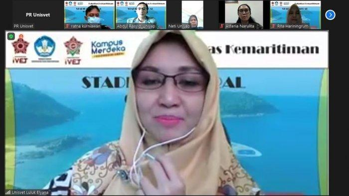 Fakultas Kemaritiman Universitas Ivet Semarang Selenggarakan Kuliah Umum