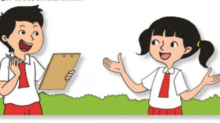 Kunci Jawaban Tema 8 Kelas 3 SD Subtema 1 Pembelajaran 2 Halaman 12, 13, 14, 15 Aku Anggota Pramuka