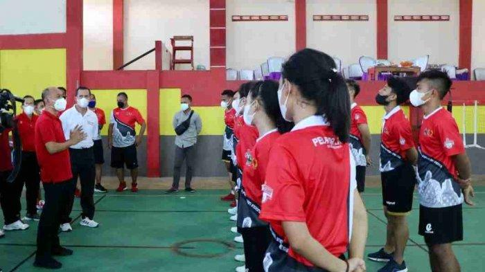 Jalani Pemusatan Latihan, Atlet Sepak Takraw Jateng Siap Berlaga di PON Papua
