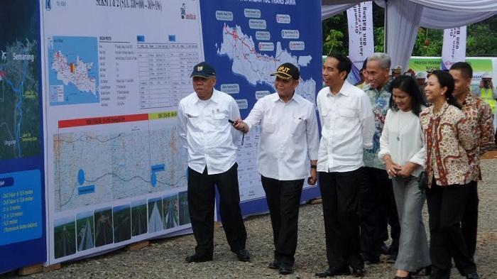 Jokowi Mulai Pembangunan Tol Pemalang-Semarang dengan Investasi Rp 15,8 Triliun