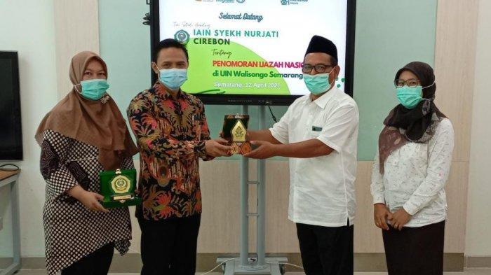 IAIN Cirebon Belajar Penomoran Ijazah ke UIN Walisongo Semarang