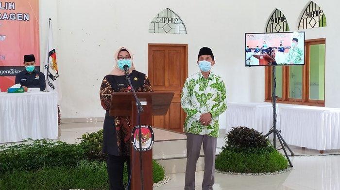 Kusdinar Untung Yuni Sukowati akan Dilantik Jadi Bupati Sragen Terpilih