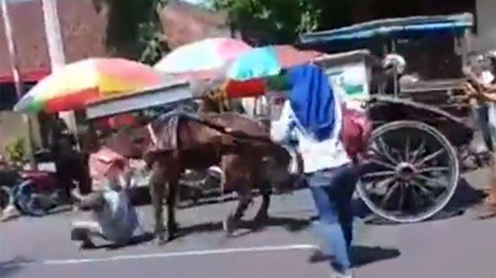 KISAH Mardi Si Kusir Senior Apes Dicokot Jaran Saat Angkut Anak-anak TK