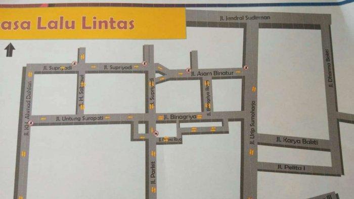 4 Ruas Jalan di Kota Pekalongan Diberlakukan Sistem Satu Arah, Ini Daftarnya