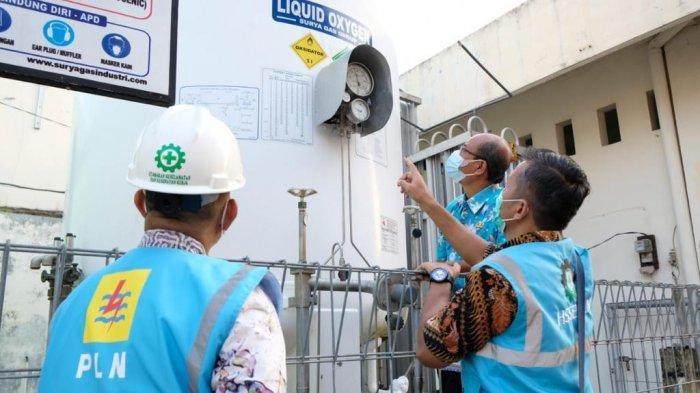 Lagi, PLN Salurkan Bantuan Oksigen Penanganan Covid ke 7 Rumah Sakit di Jawa Tengah