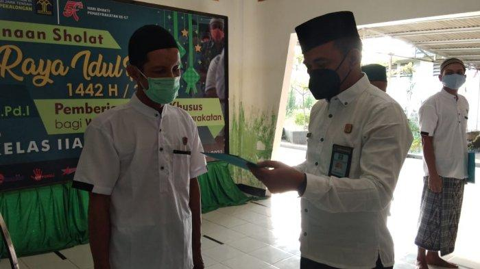 Lapas IIA Pekalongan Beri Remisi 159 Warga Binaan, Penerima Remisi Mayoritas Napi Kasus Narkoba