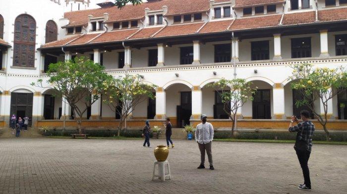 Begini Kondisi Wisata di Pusat Kota Semarang saat Akhir Pekan Selama PPKM Level 2