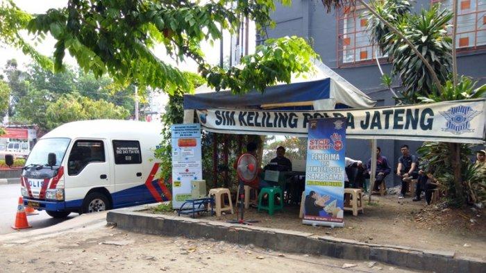 Hotline Semarang : Ini Jam Operasional SIM Keliling